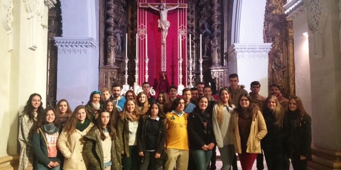 Convivencia Grupo Joven Hermandad de la Yedra y Grupo Joven Hermandad de las Tres Caidas.