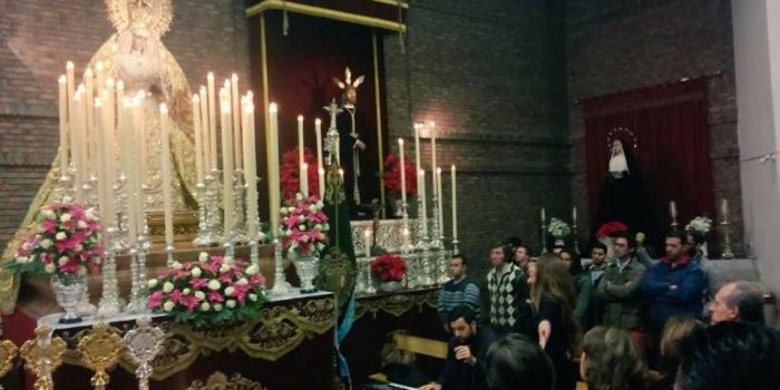 Canciones de la artista Laura Gallego a Nuestra Señora de la Esperanza.