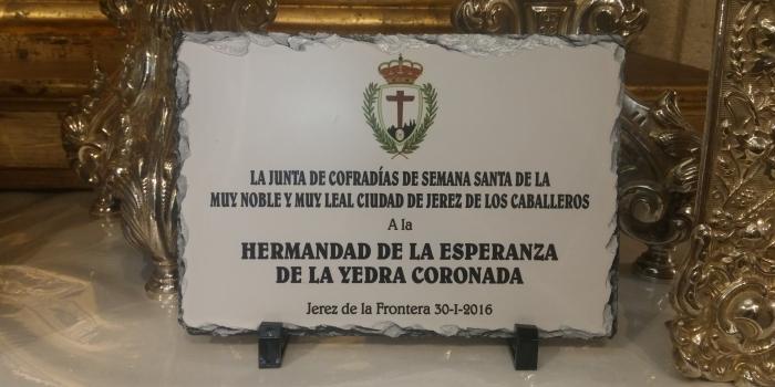 VISITA A NUESTRA HERMANDAD.