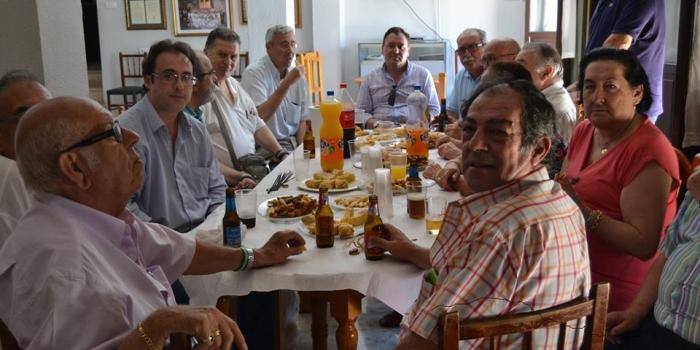 CONVIVENCIA GRUPO DE MAYORES