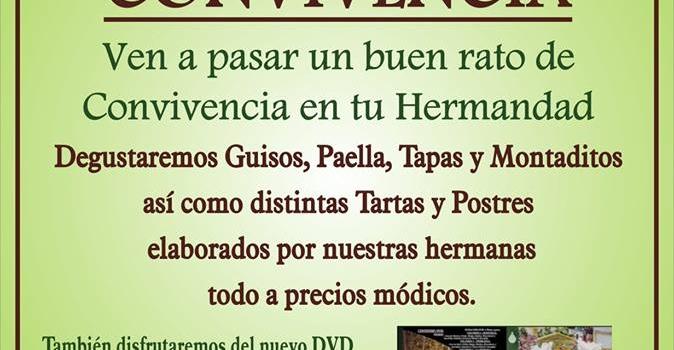 CONVIVENCIA EN NUESTRA CASA DE HERMANDAD