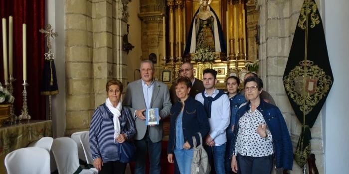 Visita a Nuestra Hermandad de la Agrupación Parroquial Pro-Hermandad de Nuestra Señora del Prado en su Dolor