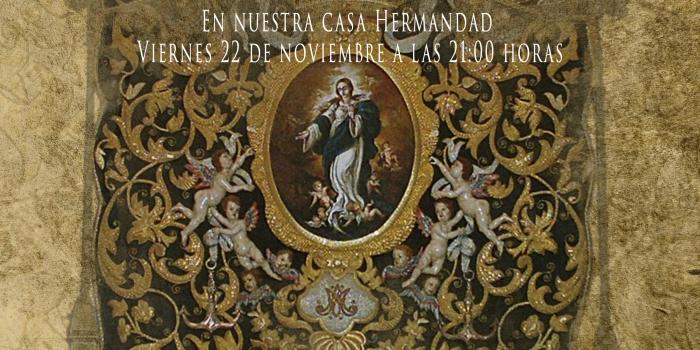 II Charla; Mesa redonda Homenaje a nuestro Hermano «Fray Ricardo de Córdoba»