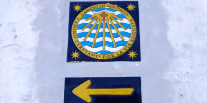 La capilla de la Yedra señala el «Camino Ceretano por la Vía Augusta»