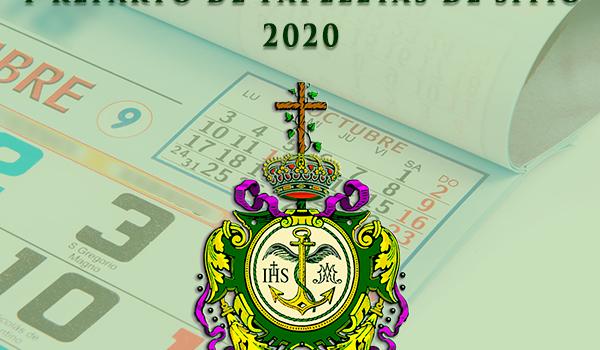 Abono de las Cuotas y reparto de papeletas de sitio de 2020