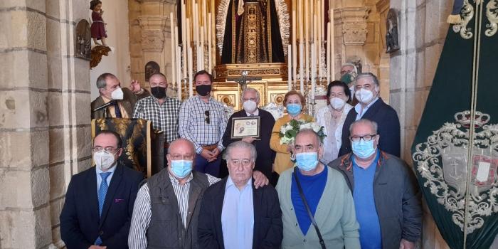 Homenaje del Grupo de Mayores a nuestro Hermano Paco Díaz